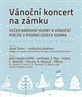 Vánoční koncert zámek Dobříš